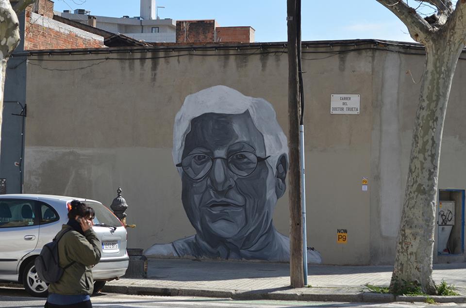 Jupiterfab mural in Alaba street 1st time painted