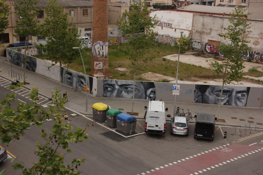 Pallars and Ciutat de Granada street